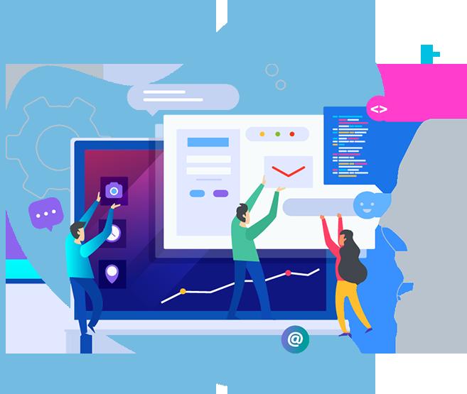 web development process img